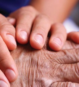Geriatric massage therapy